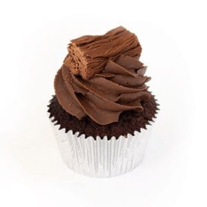 Cupcake - Chocolate - Choc-on-Choc - cake - handmade - bakery - celebration - fresh - custom - unique - Niagara Park - NSW - Sydney - CakeAndPlate.com.au - © 2019