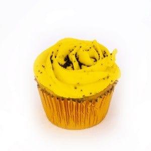 Cupcake - Lemon Poppyseed - cake - handmade - bakery - celebration - fresh - custom - unique - Niagara Park - NSW - Sydney - CakeAndPlate.com.au - © 2019
