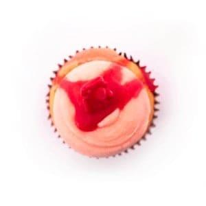 Cupcake - Redskin - cake - handmade - bakery - celebration - fresh - custom - unique - Niagara Park - NSW - Sydney - CakeAndPlate.com.au - © 2019