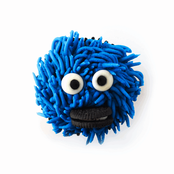 Cupcake - Cookie Monster - cake - handmade - bakery - celebration - fresh - custom - unique - Niagara Park - NSW - Sydney - CakeAndPlate.com.au - © 2019