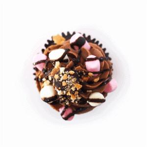 Cupcake - Rocky Road - cake - handmade - bakery - celebration - fresh - custom - unique - Niagara Park - NSW - Sydney - CakeAndPlate.com.au - © 2019