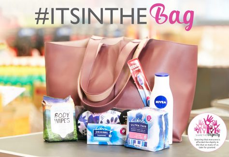 It's In The Bag gives YOU the power to make life better for a woman or girl experiencing homelessness or poverty this Christmas.