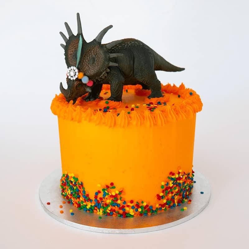 Party Dinosaur - Quick-Cake - handmade - bakery - celebration - fresh - custom - unique - Niagara Park - NSW - Sydney - CakeAndPlate.com.au © 2020