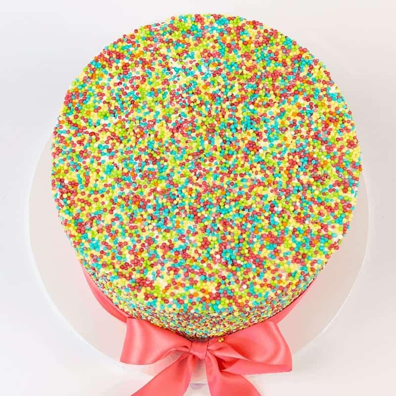 Hundreds and Thousands - Quick-Cake - handmade - bakery - celebration - fresh - custom - unique - Niagara Park - NSW - Sydney - CakeAndPlate.com.au © 2020