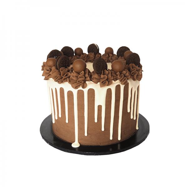 Cookies and Cream Drip - Quick-Cake - handmade - bakery - celebration - fresh - custom - unique - Niagara Park - NSW - Sydney - CakeAndPlate.com.au © 2020 - #1