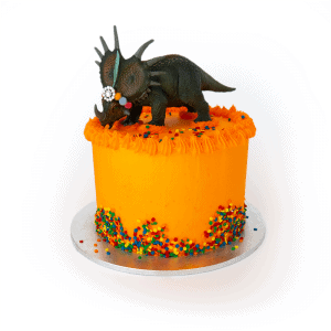 Party Dinosaur - Quick-Cake - handmade - bakery - celebration - fresh - custom - unique - Niagara Park - NSW - Sydney - CakeAndPlate.com.au © 2020 - #1