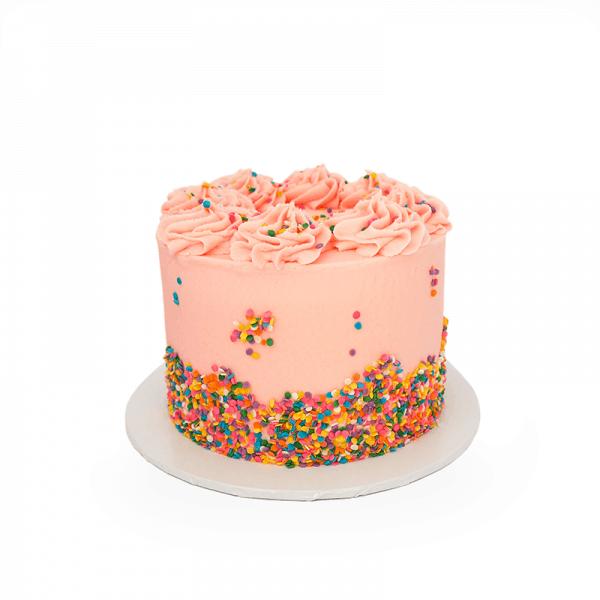 Pretty in Pink - Quick-Cake - handmade - bakery - celebration - fresh - custom - unique - Niagara Park - NSW - Sydney - CakeAndPlate.com.au © 2020 - #1