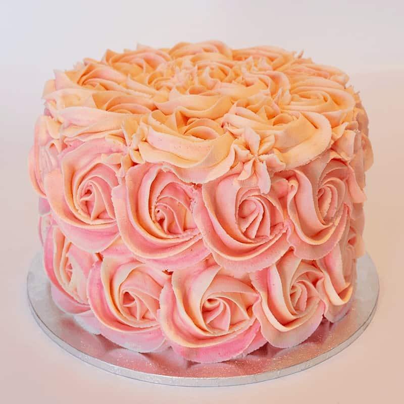 Rosette - Quick-Cake - handmade - bakery - celebration - fresh - custom - unique - Niagara Park - NSW - Sydney - CakeAndPlate.com.au © 2020