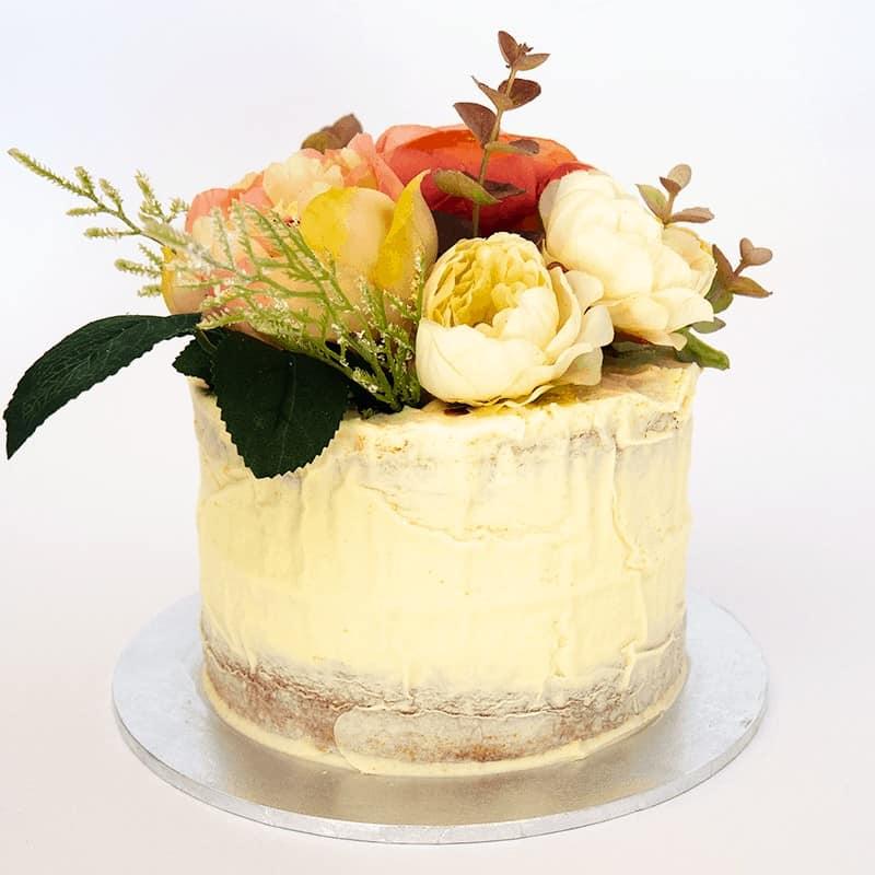 Semi-Naked - Quick-Cake - handmade - bakery - celebration - fresh - custom - unique - Niagara Park - NSW - Sydney - CakeAndPlate.com.au © 2020